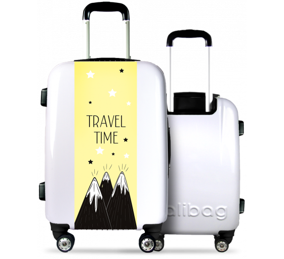 Valise Travel Time Ton Blanc