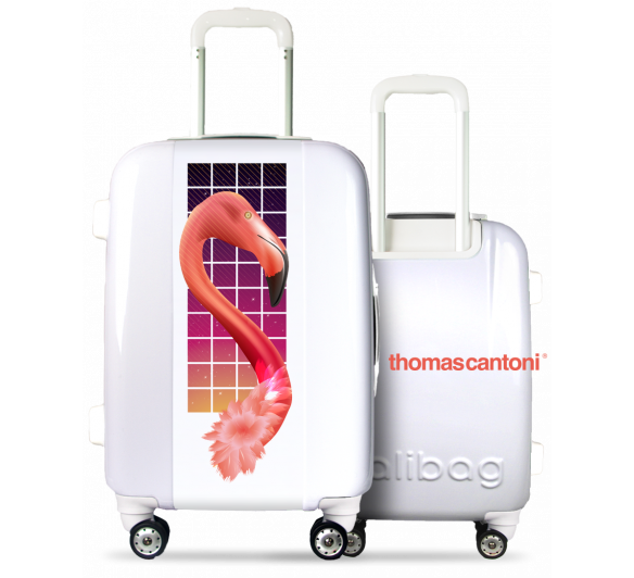 Flamant Suitcase By Thomas Cantoni©