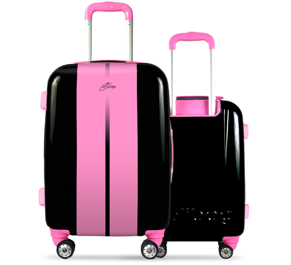 Valise Classic Road Pink