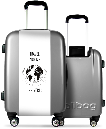 Valise Grise Around The World