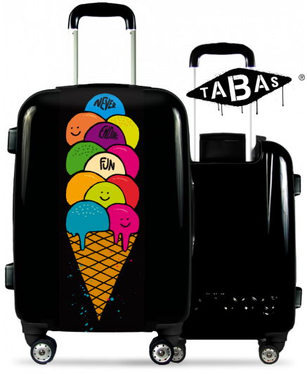 """Fun"" Suitcase By Tabas™"