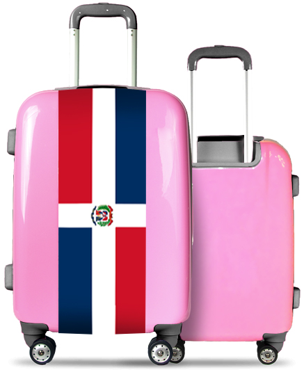 Pink Suitcase Dominican Republic