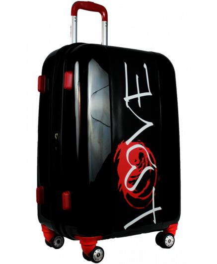 Valise Red Love