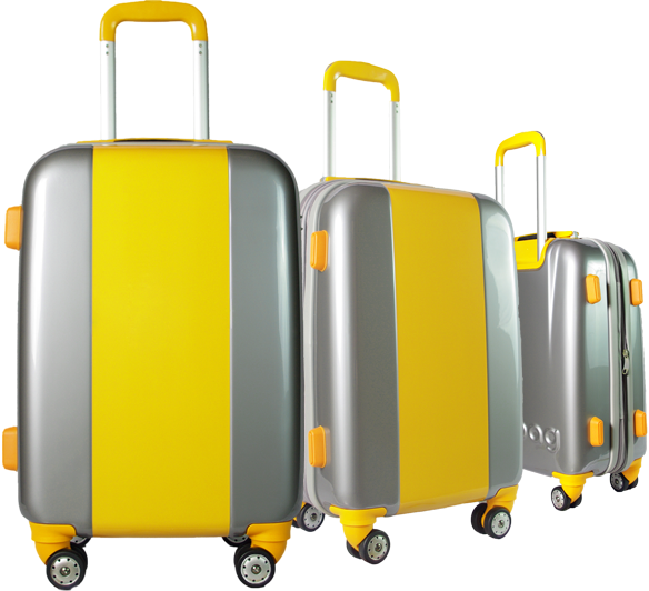 Valise Classic N°4 Yellow