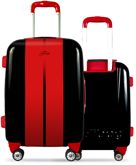Valise Classic Road Red
