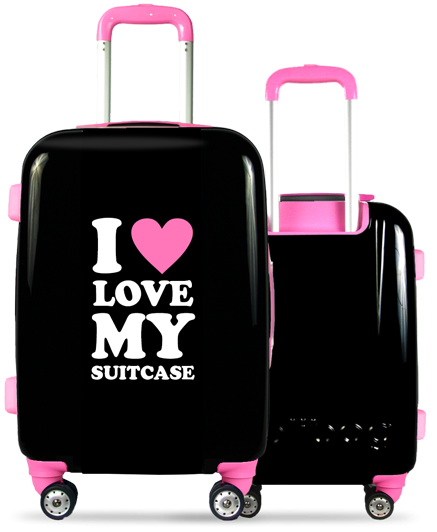 Valise Classic Love Pink