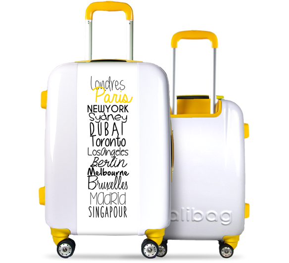 Valise Classic N°5 Yellow