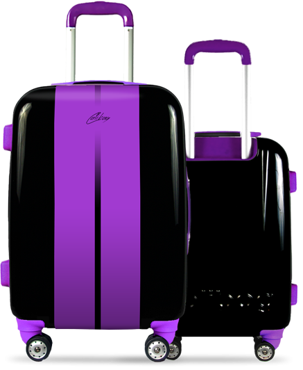 Valise Classic Road Purple