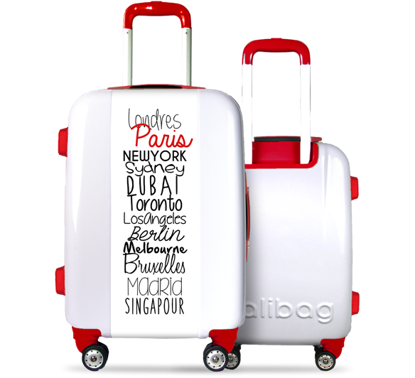 Valise Classic N°5 Red