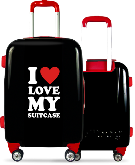 Valise Classic Love Red