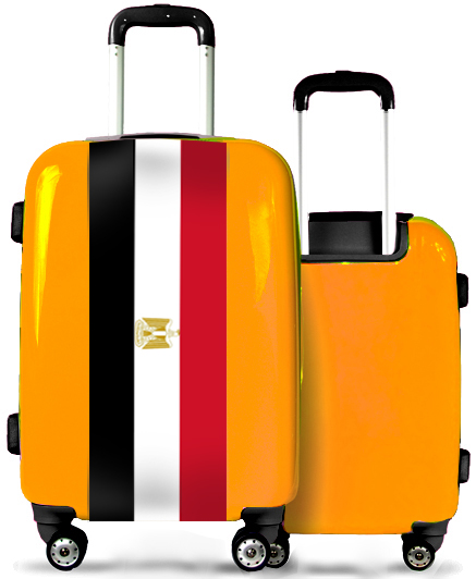 Valise Orange Egypte