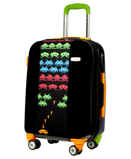 Suitcase Space Invaders