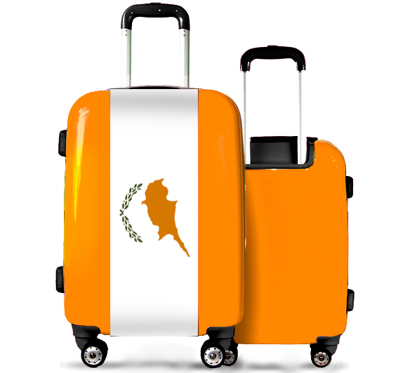 Valise Orange Chypre