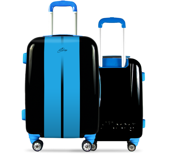 Valise Classic Road Blue