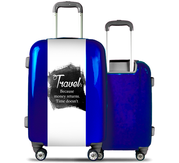 Blue Suitcase Travel Ink