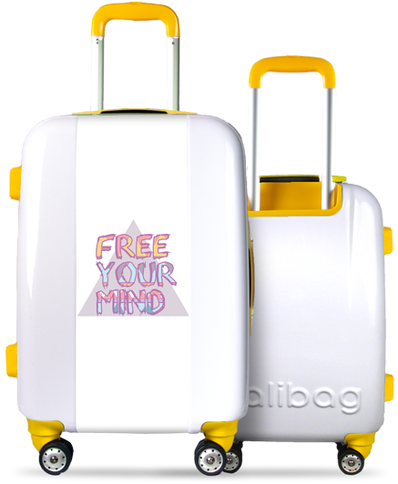 """Free Your Mind"" Suitcase"