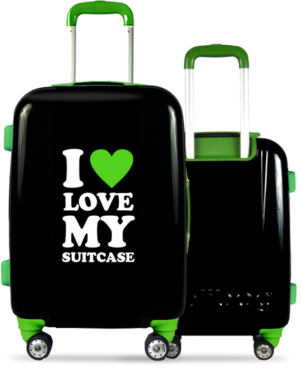 Valise Classic Love Green