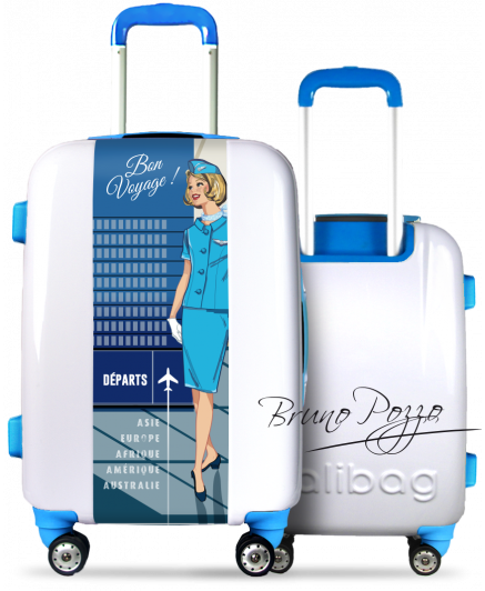 """Marylin"" Suitcase By Bruno Pozzo"