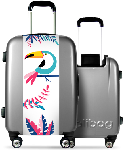 Valise Grise Toucan