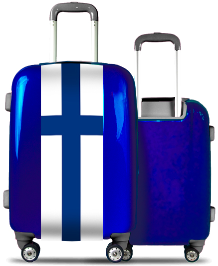 Blue Suitcase Finland