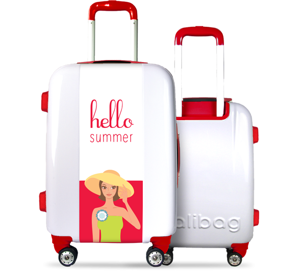 Valise Hello Summer Red