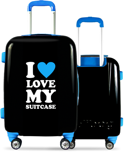 Valise Classic Love Blue