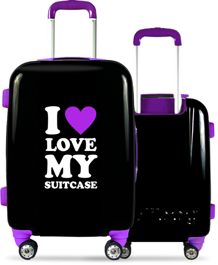 Valise Classic Love Purple