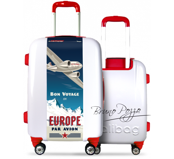"""Europe"" Suitcase By Bruno Pozzo"