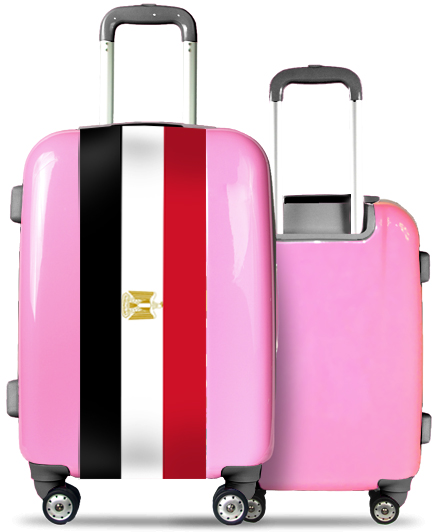 Pink Suitcase Egypt