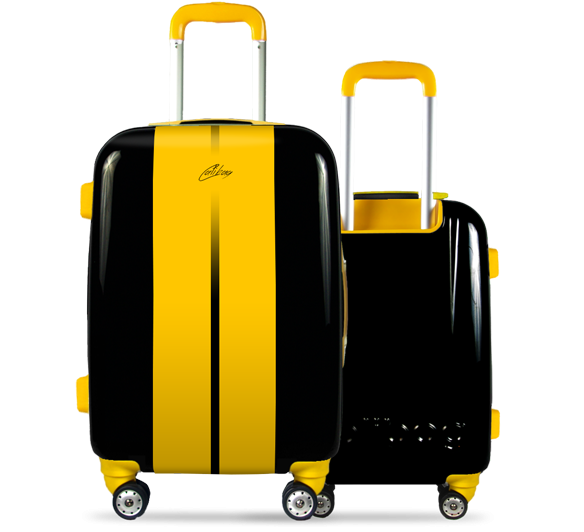 Valise Classic Road Yellow