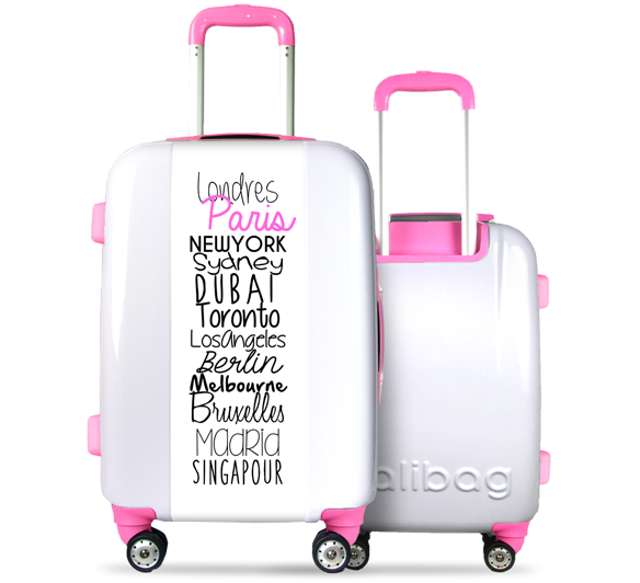 Valise Classic N°5 Pink