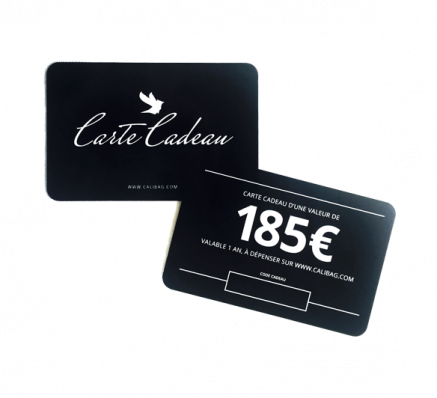 Gift card of 185 €